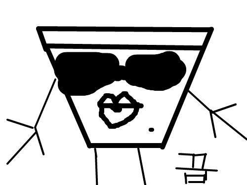 바보 : 바보바보 스케치판 ,sketchpan