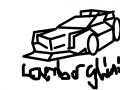 람보르기니 베네노를 본떠서그린 람로르기니베네노 수퍼레제라SV : DDDDDDDDD 스케치판 ,sketchpan