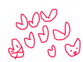 하트트트 : 하트트트 스케치판 ,sketchpan