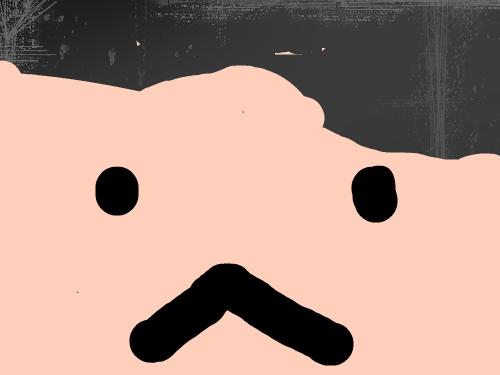 인간인가? : 머리가......................뭐지 스케치판 ,sketchpan