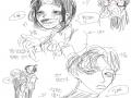 자컾2세 : 자컾2세 스케치판 ,sketchpan