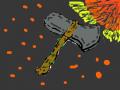 어벤져스 인피니티 워 스톰브레이커 : 스톰브레이커 장면 스케치판 ,sketchpan