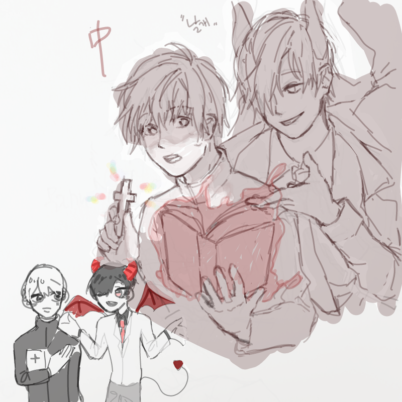 므잉 : 므잉 스케치판 ,sketchpan