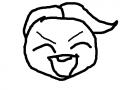이상한 아기 : 그냥 아기 스케치판 ,sketchpan