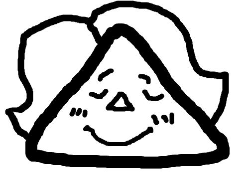 얼굴 : 세모얼굴 스케치판 ,sketchpan