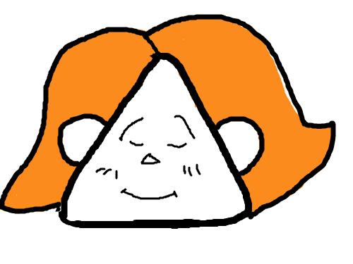 얼굴 : 세모 얼굴 스케치판 ,sketchpan