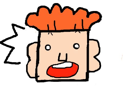 네모 얼굴 : 네모 얼굴 스케치판 ,sketchpan