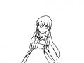 음.. 무엇이지?? : 사실 주름 그릴려고했는데 귀찮.... 스케치판 ,sketchpan