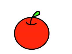 사과 : 사과사과 , 스케치판,sketchpan,손님