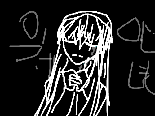 만화예고! : 슬픈 이야기 스케치판 ,sketchpan