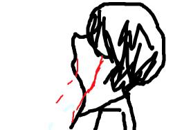 흐규흐규 : 응아니야^^ , 스케치판,sketchpan,손님