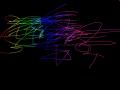 무지개 : 무지개 색깔을 넣음 스케치판 ,sketchpan