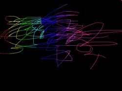무지개 : 무지개 색깔을 넣음 , 스케치판,sketchpan,손님