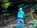 어둠이찾아온 밤 : 어둑어둑... 스케치판 ,sketchpan