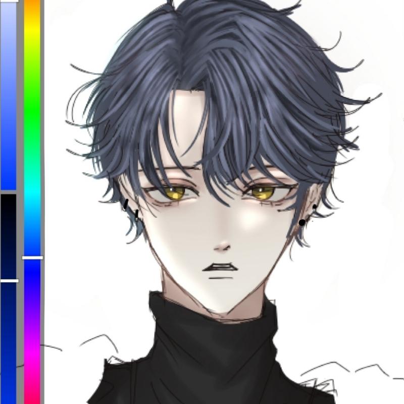 얼굴형 연.. : 얼굴형 연습중 스케치판 ,sketchpan