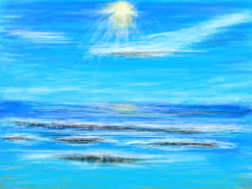 바다[기현성] : 바다 가기 딱 좋은 날씨 스케치판 ,sketchpan