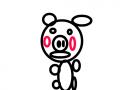 돼지 : 돼지돼지 스케치판 ,sketchpan