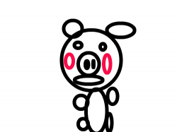 돼지 : 돼지돼지 , 스케치판,sketchpan,손님