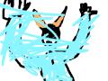 비가 덮친 남학생 : 하늘색은비다. 스케치판 ,sketchpan
