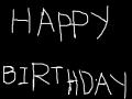 HAPPY BIRTHDAY : 생일인 사람이 꼭봐야할 작품. 스케치판 ,sketchpan
