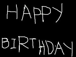 HAPPY BIRTHDAY : 생일인 사람이 꼭봐야할 작품. , 스케치판,sketchpan,손님