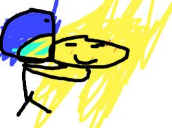 호빵 : 호빵을 먹자 , 스케치판,sketchpan,손님