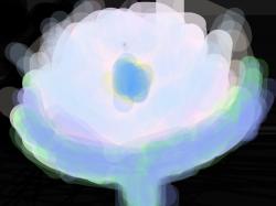 우울한 꽃의 색깔 : 그냥그냥 , 스케치판,sketchpan,손님