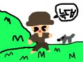 양치기 소년 : 으아아아아ㅏㅇ 늑대다아아아아 (양이 어디있지?)양 없음 주의;; 스케치판 ,sketchpan
