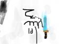도께비 드라마 글자그리기 : 도께비 라는 글자 잘못그렸지만 에쁘게 봐주세요 스케치판 ,sketchpan
