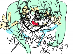 ddddd : xddcx , 스케치판,sketchpan,손님