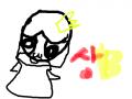 상b의 자캐 : 공지: 상c에서 상b바꿧습니다 얘쁘개 봐주새요 ㅎㅎ 이 자캐에 이름은 엘리자리스틸52세 나이:52세 특징: 늑지않는 약을 먹어 9살에 모습을 가지고잇음 스케치판 ,sketchpan