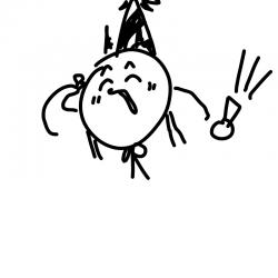 저 오늘 생.. : 저 오늘 생일이에요 아이 아니 참 그냥 그렇다구요..ㅎㅎ , 스케치판,sketchpan,뿔주세요