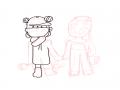 하는중. : 하는중. 스케치판 ,sketchpan