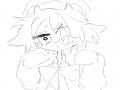 명꼬님D : 명꼬님D 스케치판 ,sketchpan