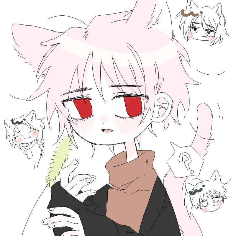 고양이 가.. : 고양이 가족 스케치판 ,sketchpan