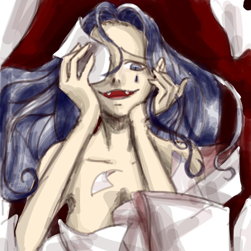 입을 깜빡.. : 입을 깜빡하다니 스케치판 ,sketchpan