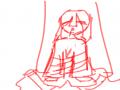 흐흐..(저.. : 흐흐..(저녀석은 또 먼속셈이야...) 스케치판 ,sketchpan