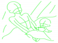 자신의자캐.. : 자신의자캐와자캐축소화를그려보장! 스케치판 ,sketchpan