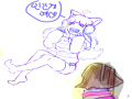 테미의인.. : 테미의인화!!(중셉) 스케치판 ,sketchpan