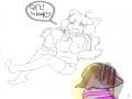테미!!선따.. : 테미!!선따귀!!(중셉) ※언제색칠하지‥ 스케치판 ,sketchpan