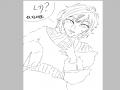 리퀘2 채색.. : 리퀘2 채색못해드렸어요‥죄송해요ㅠ 스케치판 ,sketchpan