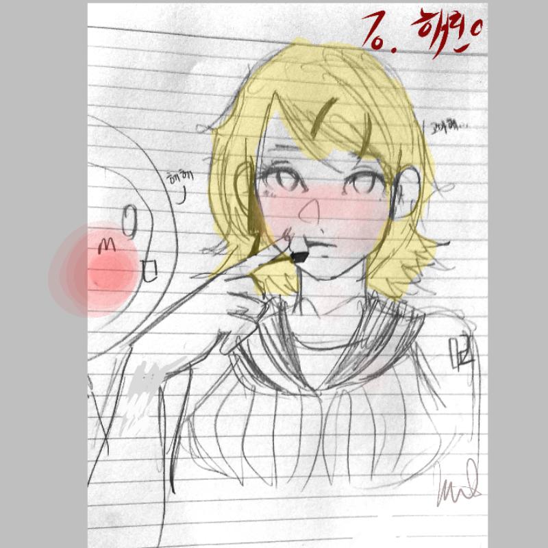 리퀘 3 급.. : 리퀘 3 급하게 ;; 스케치판 ,sketchpan