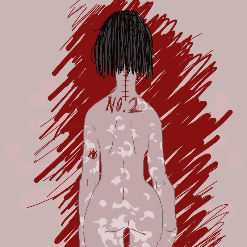 감염 : 감염 스케치판 ,sketchpan