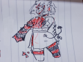 자캐낙서.. : 자캐낙서♡2 스케치판 ,sketchpan