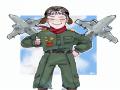 비행기 조.. : 비행기 조종사 스케치판 ,sketchpan