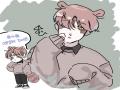 캐 옷 보자.. : 캐 옷 보자마자 바로 그려버림.. 넘무 이뻐요... 스케치판 ,sketchpan