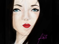 Mayumi\'s Geisha Art : Finally Done. Before you criticize...are you sure you can do better? Enjoy ^^-Ruby 스케치판 ,sketchpan