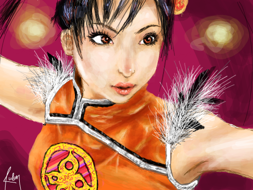 TEKKEN! : This is dedicated to my friend rey. This is RubyMay aka Rutess signing off. :D 스케치판 ,sketchpan