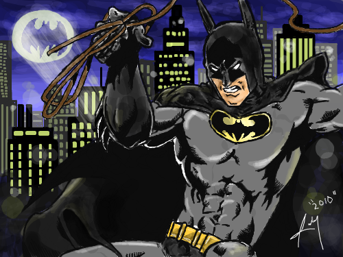 BATMAN!!! : GO GO BATMAN! Haha. ^_^ Give 5 gold if you love it even if you hate it :D Have a nice day!!! 스케치판 ,sketchpan