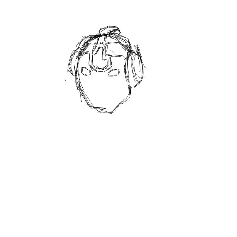 미완그림 : 미완그림 스케치판 ,sketchpan
